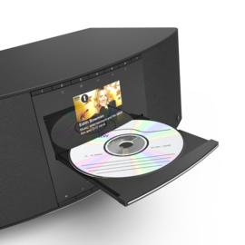 Hama DIR3510SCBTX stereo internet radio systeem met DAB+, FM, Bluetooth, Spotify, CD en USB