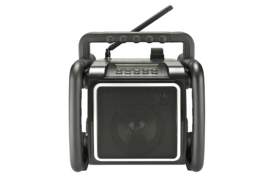 Perfectpro TEAMBOX werkradio met DAB+, FM, Bluetooth en USB-speler
