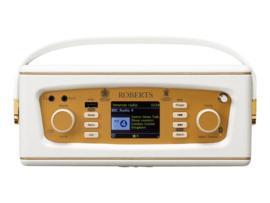 Roberts Revival iStream 3 internetradio, DAB+, FM, USB, Spotify, Alexa en Bluetooth, wit