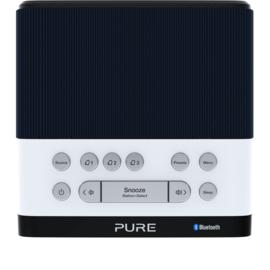 Pure Siesta Rise S wekkerradio met DAB+ FM en Bluetooth, Navy - donkerblauw