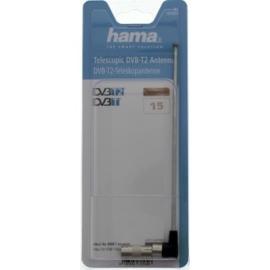 Hama DAB+ / DVB-T / DVB-T2 telescoopantenne met Coax connectors, haaks