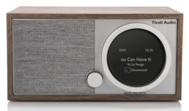 Tivoli Audio ART Model One Digital Generatie 2 met internetradio, DAB+, FM, Spotify en Bluetooth, walnut grey, ZONDER DOOS