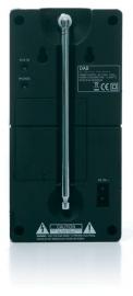 Scansonic P3500 draagbare DAB+ en FM radio met accu
