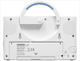 Sangean H-203D badkamer radio met DAB+ en FM