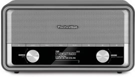 TechniSat DigitRadio 520 retro internetradio met DAB+, Bluetooth en Spotify, antraciet