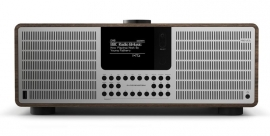 Revo SuperSystem stereo internetradio met Bluetooth, Spotify, USB en DAB+, walnoot-zilver
