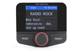 Tiny Audio C8 DAB+ carkit adapter met Bluetooth