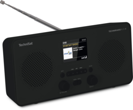 TechniSat TECHNIRADIO 6 S IR stereo digitale portable radio met DAB+, FM en internet, zwart