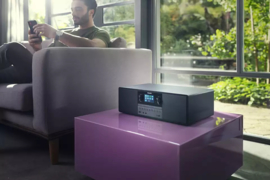 Philips TAM6805 / 10 micromuzieksysteem met CD, Wifi internet, DAB+, FM, Bluetooth, Spotify