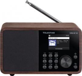 Telestar DIRA M 14i radio met DAB+, FM, Bluetooth, USB en Internet