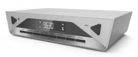 Soundmaster UR2040SI DAB+ en FM onderbouw keukenradio met Bluetooth, zilver, OPEN DOOS