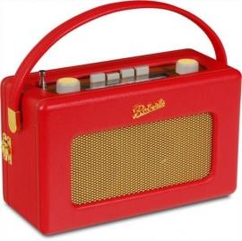 Roberts R250 FM, MW, LW  radio, Rood