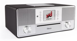 Block SR-50 Smartradio all-in-one stereo 2.1 radio met CD, internetradio, DAB+, Spotify, USB en Bluetooth, Anthracite