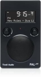 Tivoli Audio Model PAL+BT 2021 oplaadbare radio met DAB+, FM en Bluetooth, zwart