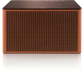 Geneva Acustica hi-fi Bluetooth en lijn-in luidspreker, cognac