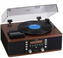 TEAC LR-R500 Muli Audiosysteem LP / CAS / CD / AM / FM / Recorder rosewood