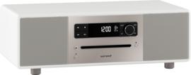 sonoro LOUNGE 2.1 stereo muzieksysteem met DAB+ en FM, CD speler, USB en Bluetooth, wit