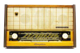 A.bsolument Nr. 801 - Echte Vintage Jaren 50 Radio met Bluetooth en audio ingang