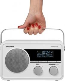 TechniSat DigitRadio 220 portable DAB+ en FM radio met ingebouwde accu