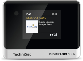 TechniSat DigitRadio 10 IR mini stereo tuner met internet, DAB+, FM en Bluetooth voor stereo installaties