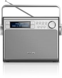 Philips AE5020B /12  draagbare DAB+ en FM radio
