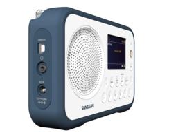 Sangean TRAVELLER 760  ( DPR-76 ) DAB+ draagbare radio met FM, blauw