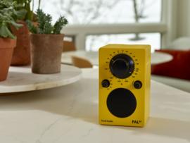 Tivoli Audio Model PAL+BT 2021 oplaadbare radio met DAB+, FM en Bluetooth, geel