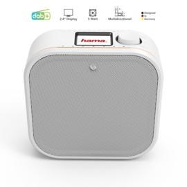 Hama DR350 onderbouw DAB+ radio met FM, wit