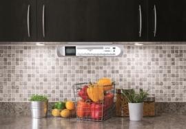 Soundmaster UR2170SI keuken onderbouw DAB+ radio met CD en USB, zilver