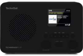 TechniSat TECHNIRADIO 6 IR digitale portable radio met DAB+, FM en internet, zwart