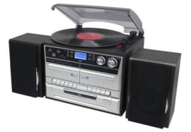 Soundmaster MCD5550SW stereo muziek center met DAB+ radio, FM, CD en Bluetooth, zwart
