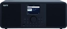 Imperial DABMAN i205 stereo hybride internetradio met DAB+ en FM en Bluetooth 5.0, zwart