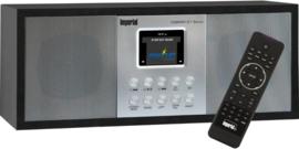 Imperial DABMAN i27 stereo hybride internetradio met DAB+ en FM en Bluetooth, zwart