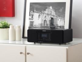Sangean DDR-63i Tafelmodel internet en DAB+ radio met CD en SD speler