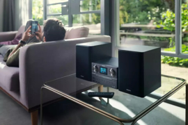 Philips TAM8905 / 10 micromuzieksysteem met wifi internet, DAB+, FM, Bluetooth, Spotify