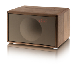 Geneva Classic /S hi-fi speaker met FM / DAB + radio, Bluetooth en alarmklok, walnoot