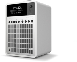 Revo SuperSignal radio met FM, DAB+ en aptX Bluetooth, matwit zilver