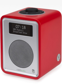 Ruark Audio R1-30 Limited Edition, deluxe tafelradio met DAB+, FM en Bluetooth, Swiss Red