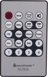 Soundmaster Elite Line IR3200 Stereo internetradio met DAB+, FM, Bluetooth en USB