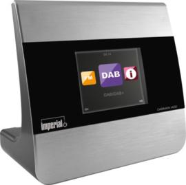 Imperial DABMAN i400 mini hifi tuner met internetradio, USB, DAB+, FM en Bluetooth, zilver