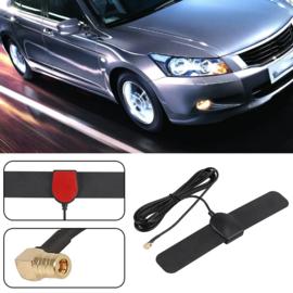 DAB+ antenne voor in de auto, zelfklevend, met SMB female plug