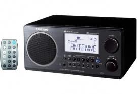 Sangean WR-2 (AM / FM radio, Zwart)
