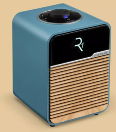 Ruark Audio R1 Mk4 deluxe tafelradio met DAB+, FM en Bluetooth, Beach Hut Blue