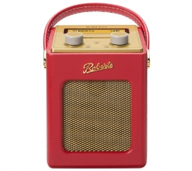 Roberts Revival Mini draagbare DAB+ FM radio, Rood