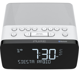 Pure Siesta Charge DAB+ wekker radio met Qi draadloze telefoonoplader en Bluetooth, Polar