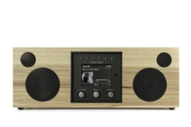 Como Audio Duetto hifi stereo alles-in-1 radio met wifi internet, DAB+, Spotify en Multi room, Hickory