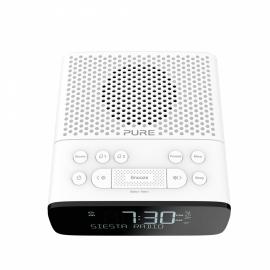 Pure Siesta S2 DAB+ en FM wekkerradio, wit