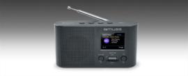 Muse M-112 DBT draagbare radio met FM, DAB+ en Bluetooth ontvangst
