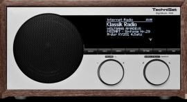 TechniSat DigitRadio 400 houten internetradio met DAB+ en FM, houtkleur