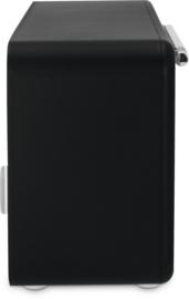TechniSat Viola 2 S digitale portable stereo radio met DAB+ en FM, wit-zwart